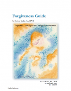 Forgiveness Guide Book