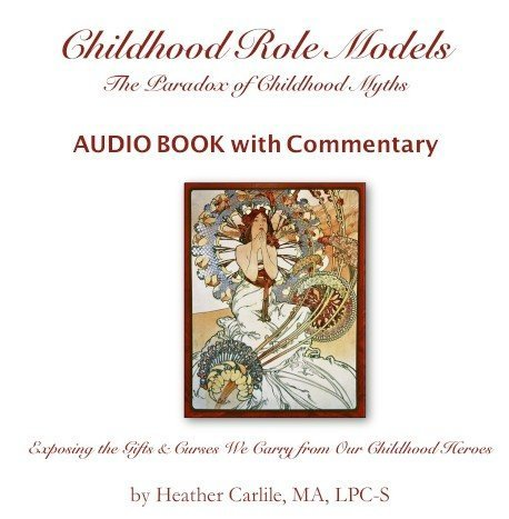Childhood Roles Models Audio Book with Commentary Recorded in the Studio by Heather Carlile