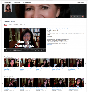 Heather's You Tube Channel