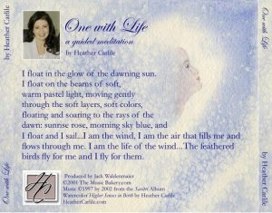 Audio CD Guided Meditation: One with Life