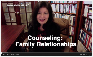 Counseling: Family Relationships