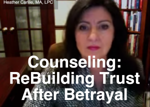 Marriage Counseling: Rebuilding Trust After Betrayal