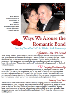 Ways We Arouse the Romantic Bond