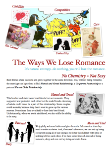 Ways We Lose Romance