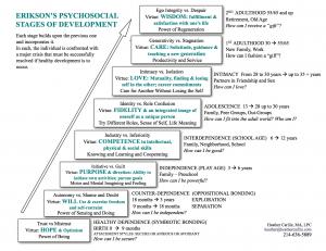 Erikson's Developmental Needs Stages