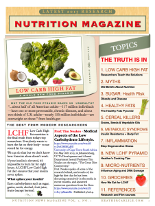 New Nutrition Magazine P. 1